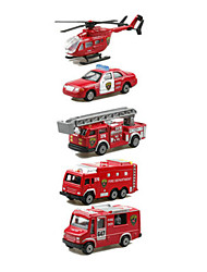 cheap -Toy Car Vehicle Playset Fire Engine Vehicle Car Helicopter Classic & Timeless Chic & Modern Boys' Girls' Toy Gift
