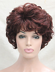 cheap -new wavy curly golden blonde mix short synthetic hair full women s wig for everyday