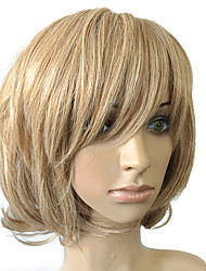cheap -Synthetic Wig Curly Curly Bob Wig Blonde Golden Blonde Synthetic Hair Women's Blonde