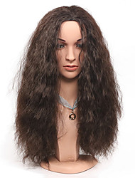 cheap -Synthetic Wig Curly Water Wave Water Wave Wig Brown Synthetic Hair Women's Brown