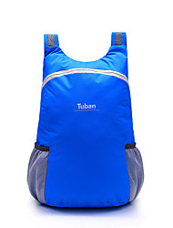 cheap -Tuban 18 L Lightweight Packable Backpack Daypack Commuter Backpack Multifunctional Waterproof Lightweight Ultra Light (UL) Outdoor Camping / Hiking Cycling / Bike 600D Polyester Light Blue Purple