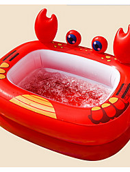 cheap -more care Ball Pool Kiddie Pool Paddling Pool Inflatable Pool Fun Novelty Toy Gift