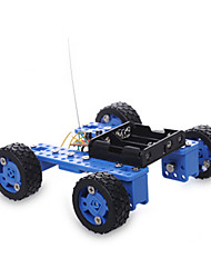 cheap -Crab Kingdom Remote Control RC Building Block Kit Toy Car Solar Powered Toy Race Car Car Remote Control / RC DIY Plastic Metal Boys' Toy Gift