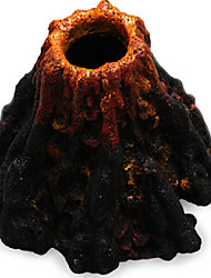 cheap -Fish Tank Aquarium Decoration Fish Bowl Ornament Rock Outcrop Non-toxic & Tasteless Resin