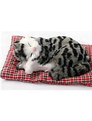 cheap -Cat Stuffed Animal Plush Toy Handcrafted lifelike Animals Classic & Timeless Plush Bamboo Toy Gift 1 pcs