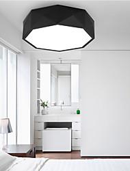 cheap -1-Light 41 cm LED Flush Mount Lights Metal Acrylic Painted Finishes Modern Contemporary 110-120V / 220-240V