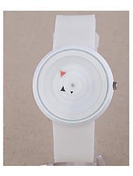 cheap -Men's Sport Watch Quartz 30 m / Plastic Band Analog-Digital Vintage Black / White - White Black