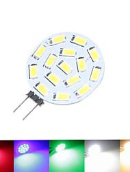 cheap -SENCART 1.5 W LED Spotlight 100-150 lm G4 MR11 15 LED Beads SMD 5630 Dimmable Warm White Natural White Red 12 V 24 V 9-30 V / 1 pc / RoHS