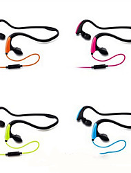 cheap -LITBest KM-J039 Neckband Headphone Wired with Microphone Sport Fitness
