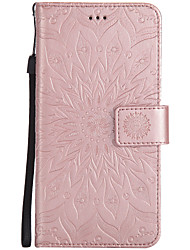 cheap -Case For Wiko Wiko Lenny 3 / Wiko Lenny 2 Wallet / Card Holder / with Stand Full Body Cases Mandala Hard PU Leather