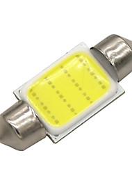Недорогие -SO.K 10 шт. T11 Автомобиль Лампы 3 W COB 120 lm Светодиодная лампа Внутреннее освещение