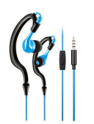 cheap -LITBest KM-R02 Neckband Headphone Wired Noise-isolating with Microphone Sport Fitness