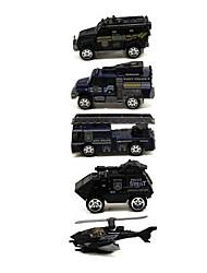 Недорогие -Игрушечные машинки Playsets автомобиля Модель авто Автомобиль моделирование Металлический сплав пластик Сплав металла Металл для Детские Мальчики Девочки