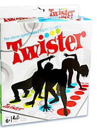 cheap -Board Game Twister Game Educational Toy Professional Novelty Plastic 1 pcs Kid's Adults' Boys' Girls' Toy Gift