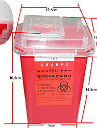 cheap -professional-tattoo-sharps-needles-disposal-red-container-for-tattoo-artists-tc234