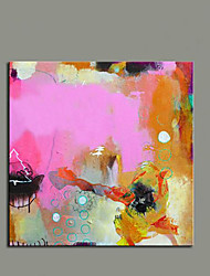 cheap -Art Simple Abstract Color Pictures 100% Handmade Oil Painting on Canvas Home Goods Decoration With Frame