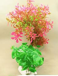 cheap -Aquarium Decoration Flower Non-toxic & Tasteless Plastic
