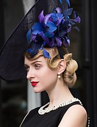 cheap -Flax Headpiece-Wedding Special Occasion Casual Outdoor Fascinators Hats 1 Piece