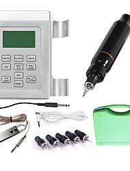 cheap -Professional Tattoo Kit Tattoo Machine - 1 pcs Tattoo Machines, Professional LED power supply 1 rotary machine liner & shader