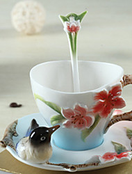 cheap -Drinkware Coffee Mug Ceramic Heat-Insulated To-Go
