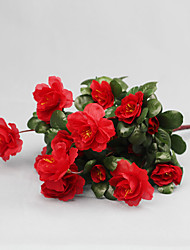 cheap -Polyester Modern Style Bouquet Tabletop Flower Bouquet 1