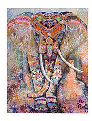 cheap -Psychedelic Elephant Floral Tapestry Hippie Mandala Gypsy Bohemian Indian Traditional Wall Hanging Sheet Curtain Wall Décor