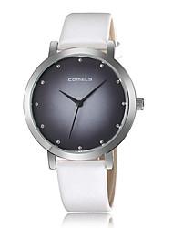 cheap -Women's Sport Watch Fashion Watch Quartz Leather Black / White / Blue Cool Analog Charm Casual - Yellow Pink Light Sky Blue