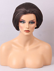 cheap -cheap lace front wigs for black and white women natural and comfortable short straight hair wig
