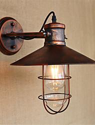 cheap -Rustic / Lodge / Country / Retro LED Wall Lights Metal Wall Light 110-120V / 220-240V 4W