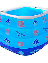 cheap -Kiddie Pool Paddling Pool Inflatable Pool Intex Pool Inflatable Swimming Pool Kids Pool Water Pool for Kids Fun Novelty Large Size Silica Gel Plastic Summer Swimming 1 pcs Kid's Adults Kids Adults'