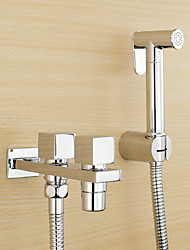 cheap -Classic Hand Shower Chrome Feature - Eco-friendly, Shower Head