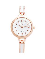 cheap -Women's Bracelet Watch Quartz Rose Gold Plated Stainless Steel Pink 30 m Analog - Digital Vintage - Pink