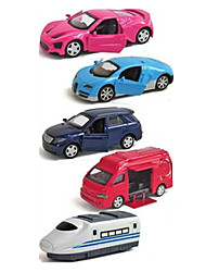 cheap -ALLOY METAL Toy Car Vehicle Playset Race Car Police car Car Simulation Classic & Timeless Chic & Modern Boys' Girls' Toy Gift / Metal