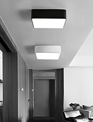 cheap -1-Light 30 cm LED Flush Mount Lights Metal Acrylic Painted Finishes Modern Contemporary 110-120V / 220-240V