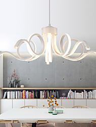 cheap -1-Light 65 cm LED Chandelier Metal Linear Painted Finishes Modern Contemporary 110-120V / 220-240V