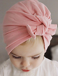 cheap -Toddler Boys' / Girls' Cotton Hats & Caps Pink / Gray / Purple One-Size / Hair Tie
