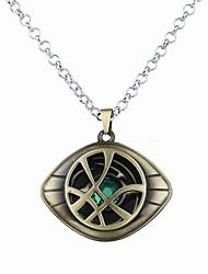 cheap -Men's Women's Pendant Necklace Logo Unique Design Dangling Army Alloy Bronze Silver Necklace Jewelry For
