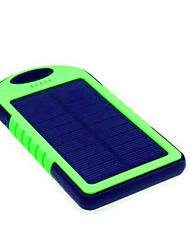 abordables -5000 mAh Pour Batterie externe de banque de puissance 5 V Pour 1 A / # Pour Chargeur de batterie Lampe Torche / Charge Solaire / Super Fin LED