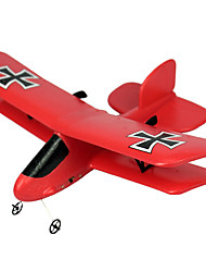 cheap -Glider RC 2.4G RC Airplane Red Some Assembly Required Remote Controller/Transmmitter USB Cable User Manual Aircraft