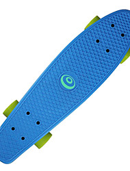 Недорогие -22,5 дюйма крейсера скейтборда ПП (полипропилен) ABEC-7 Офис Зеленый / Синий / Розовый