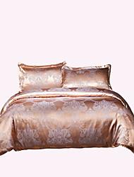 cheap -Duvet Cover Sets Luxury Poly / Cotton Jacquard 4 PieceBedding Sets / 250