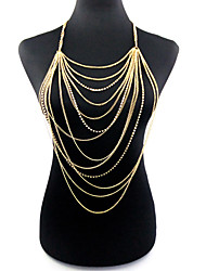 cheap -Women's Body Jewelry Body Chain Gold Ladies / Bohemian / Fashion Alloy Costume Jewelry For Christmas Gifts / Party / Special Occasion Summer