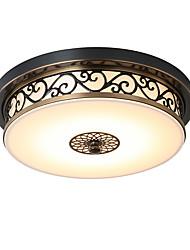 cheap -LightMyself™ 30 cm LED Flush Mount Lights Metal Bronze Rustic / Lodge / Vintage / Modern Contemporary 110-120V / 220-240V