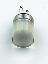 cheap -1pc 3.5 W LED Bi-pin Lights 400 lm G9 T 48 LED Beads SMD 3014 Decorative Cold White 220 V 220-240 V / 1 pc