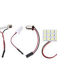 cheap -2pcs BA9S Car Light Bulbs 4.5W SMD 5050 320lm LED Interior Lights
