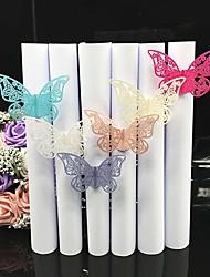 cheap -Cardboard Paper Wedding Napkins - 40 pcs Napkin Rings Wedding / Anniversary / Birthday Butterfly Theme / Classic Theme