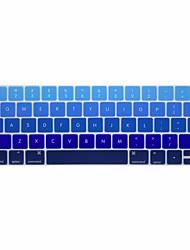 Недорогие -xskn® английский градиент силиконовая клавиатура кожи и протектор сенсорной панели для 2016 года нового Macbook Pro 13,3 / 15,4 с