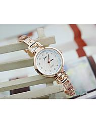 cheap -Women's Bracelet Watch Simulated Diamond Watch Quartz Stainless Steel Red 30 m / Analog - Digital Vintage - White
