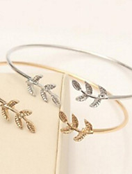 cheap -Chain Bracelet Balance Leaf Fashion Stainless Steel Bracelet Jewelry Gold / Silver For Wedding Party
