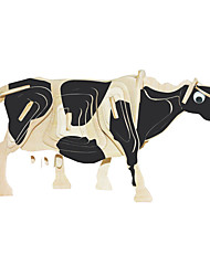 cheap -Wooden Puzzle Bull Cow Professional Level Wooden 1pcs Boys' Gift
